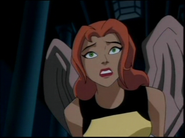 """Hawkgirl (Justice League Unlimited : """"Ancient History ..."""